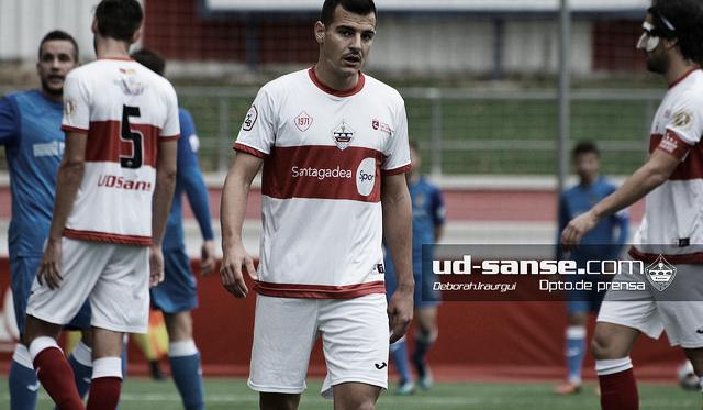 El Sanse, en uno de sus últimos partidos (Foto: ud-sanse.com Deborsh Iraurgui)