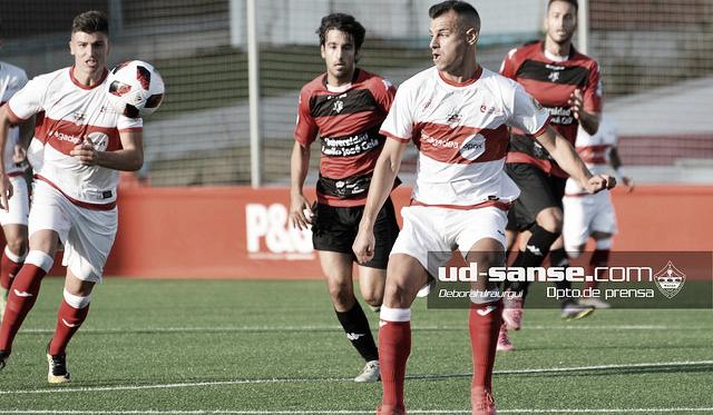 El Sanse n uno de sus últimos partidos (Foto: ud-sanse.com Deborah Iraurgui)