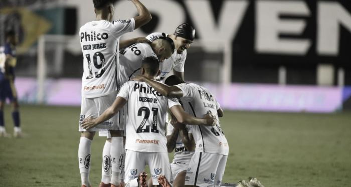 Em atuação brilhante, Santos passa fácil pelo Boca Juniors e disputará final da Libertadores