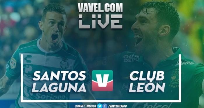 Resumen y video goles del Santos 3-0 León en Liga Mx 2018