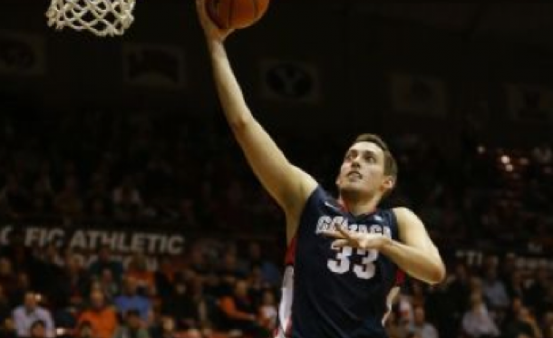 Kyle Wiltjer Goes For 45 As #3 Gonzaga Outlasts Pacific