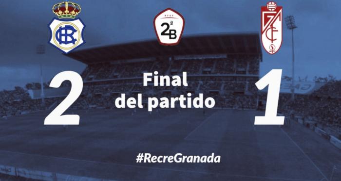 Final del Partido | Fotografía: Recreativo de Huelva