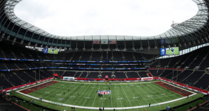 The Panthers and the Buccaneers face off in London on Sunday (Photo: Naomi Baker)