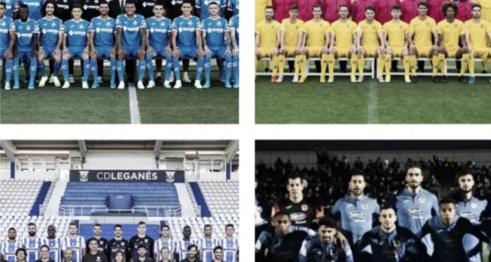 CD Leganés, Getafe CF, AD Alcorcón y CF Fuenlabrada coincidieron en Tercera la campaña 86-87. Foto: Francisco Nieto.