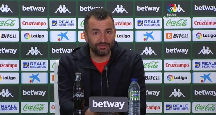 """Diego Martínez: """"Tenemos que seguir animando al equipo"""""""