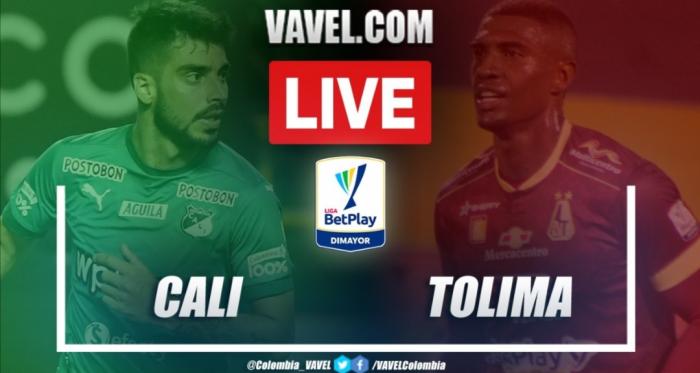 Resumen Cali vs Tolima (2-0) en los cuartos de final (vuelta) por Liga BetPlay 2021-I