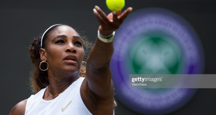 Serena Williams overcame Julia Goerges to reach the fourth round (Getty Images/Visionhaus)