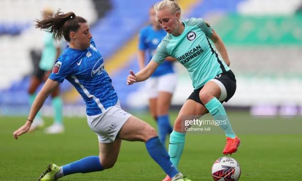 Birmingham City Women 0-5 Brighton & Hove Albion: Demolition job by the Seagulls