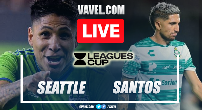 Goal and Highlights: Seattle Sounders 1-0 Santos Laguna in Leagues Cup