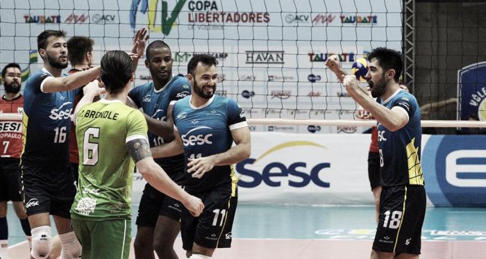 Sesc-RJ está na final da Libertadores (Foto: Rafinha Oliveira/EMS Funvic Taubaté)