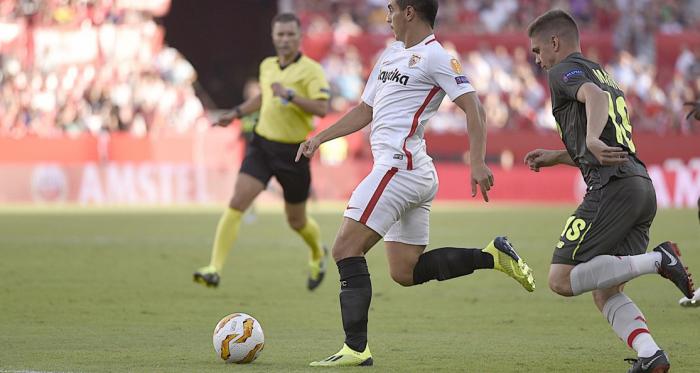 El Sevilla golea al Standard en su competición favorita