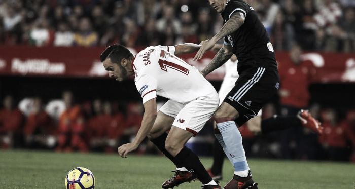 Sevilla FC y RC Celta se citan en Nervión para la octava jornada de LaLiga Santander.   Foto: J.M. Serrano