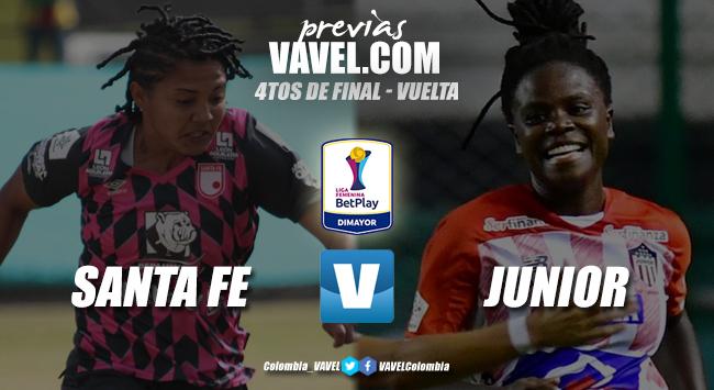 Previa Independiente Santa Fe vs. Atlético Junior: la ratificación de las 'leonas' o la remontada las 'tiburonas'