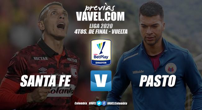 Previa Independiente Santa Fe vs. Deportivo Pasto: 90 minutos para llegar a la semifinal