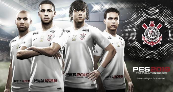 Corinthians anuncia parceria com Konami para o game Pro Evolution Soccer 2019