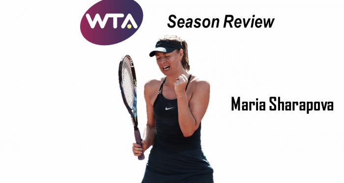 Maria Sharapova ended the year without winning a title | Edit: Don Han