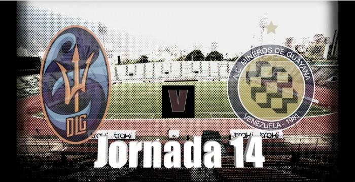 Deportivo la Guaira recibe a Mineros de Guayana en el Estadio Olímpico / www.deportivolaguaira.com.ve