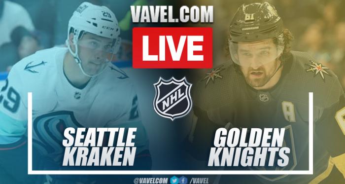 Highlights and Goals: Kraken 3-4 Golden Knights in NHL 2021-2022