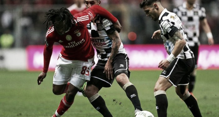 Boavista x Benfica: escorregar e desperdiçar (Foto: Lusa)
