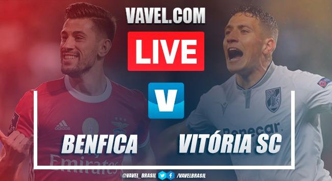 Gols e melhores momentos Benfica x Vitória de Guimarães pelo Campeonato Português (2-0)
