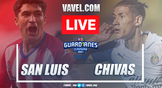Goals and Highlights of Atletico de San Luis 3-1 Chivas on matchday 3 Guard1anes 2021