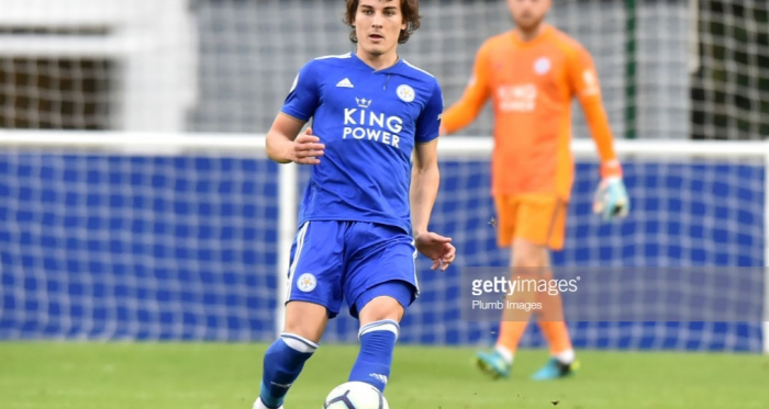 Caglar Soyuncu is ready to make his debut for Leicester, according to Puel   Photo: Getty/ Plumb Images