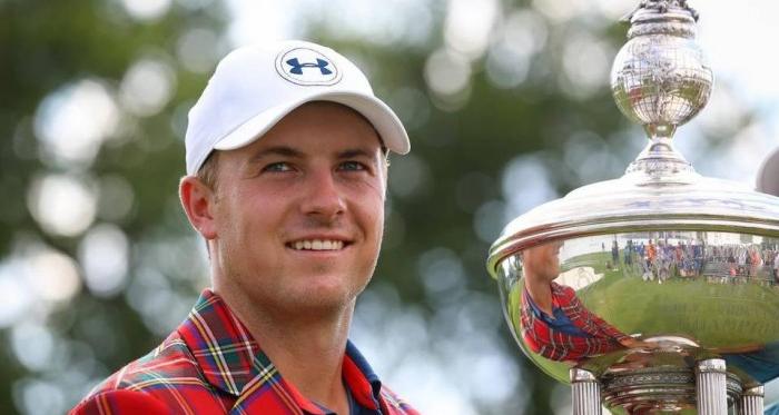 Jordan Spieth won his first tournament in Texas, but did he make the list? (Source: Star-Telegram)