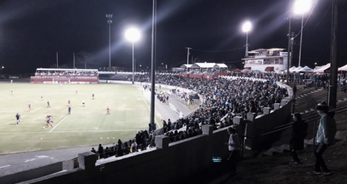 The Washington Spirit and North Carolina Courage faced off on Saturday in front of over 6,000 fans in Richmond, VA. | Photo: @WashSpirit