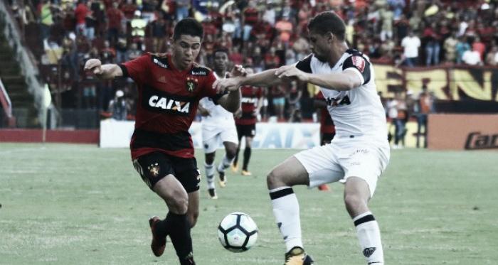 Sport sai na frente, mas Fred desencanta e garante empate para Atlético-MG