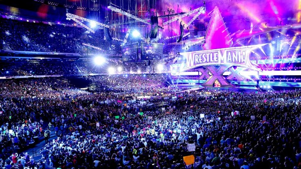 WrestleMania XXX, 2014. Credit: Sportskeedia
