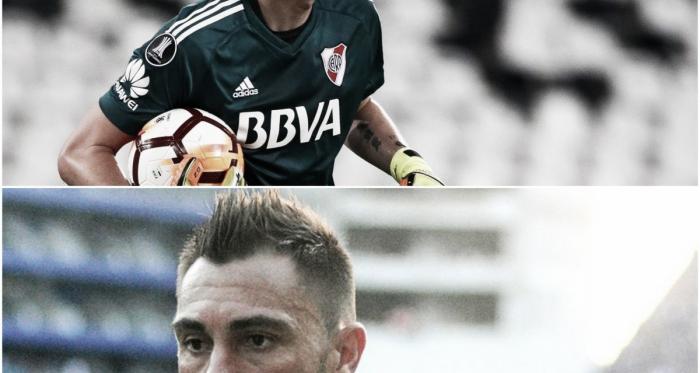 Armani (arriba) está ilusionado con ser llamado a la Selección Argentina y Dreer (abajo) es internacional con Ecuador. Foto: Nicolás Castillo-Vavel Argentina