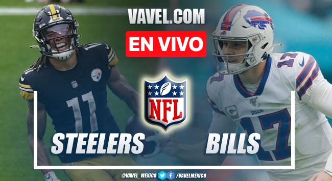 Resumen y anotaciones del Steelers 23-16 Bills en NFL 2021