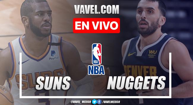 Phoenix Suns vs Denver Nuggets EN VIVO: cómo ver transmisión TV online en Juego 4Playoffs de la NBA