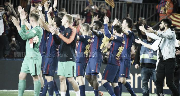 El FC Barcelona ha acabado la temporada logrando el octavo doblete de su historia | Foto: Noelia Déniz (VAVEL.com)