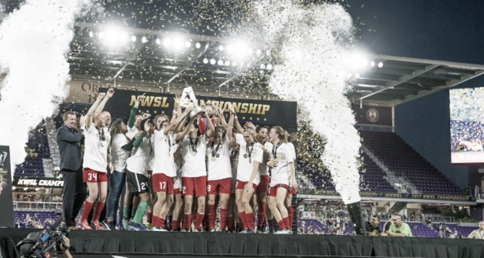 The Thorns were able to bring home a second NWSL title this season.   Source: Icon Sportswire