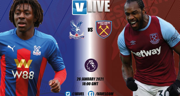 Crystal Palace v West Ham United: Live Stream TV Updates and How to Watch Premier League 2021