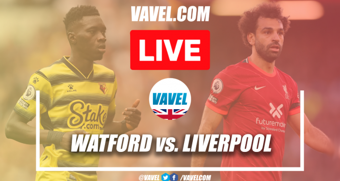 Watford vs Liverpool Live (0-3): Reds have a third