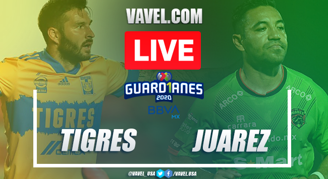 Goals and Highlights Tigres 1-1 Juárez on matchday 15 Guard1anes 2020