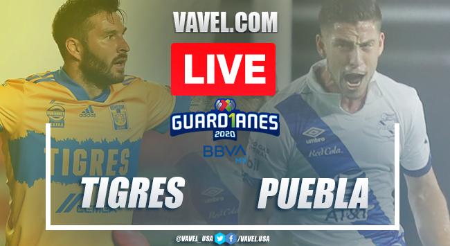 Goals and highlights: Tigres 2-1 Puebla, Guard1anes 2020 Liga MX