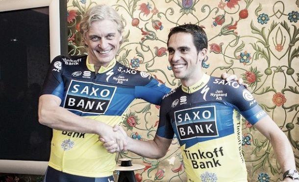 Tinkov promete primas a los rivales de Contador si corren las tres grandes