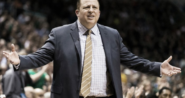 Tom Thibodeau has seized the reigns in Minnesota | Jeff Hanisch - USA TODAY Sports