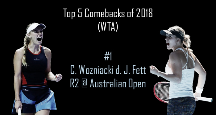 This unbelievable comeback changed Caroline Wozniacki's entire career | Edit: Don Han