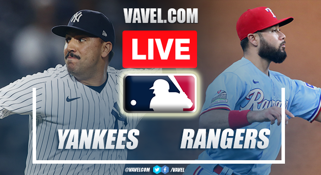 New York Yankees vs Texas Rangers: Live Stream, Score Updates and How to Watch in MLB