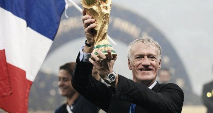 Deschamps hace historia con Francia