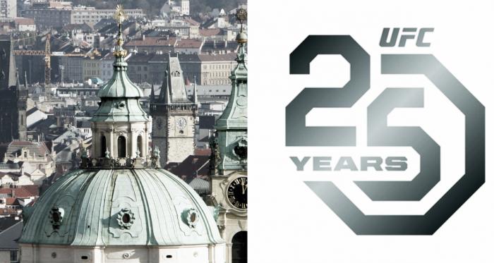 UFC Praga, sería el primer evento en Europa de 2019 (Fotomontaje: Adrián Gallardo)