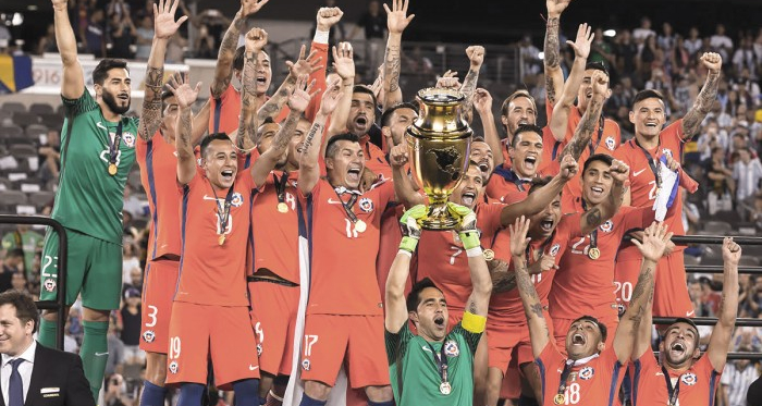 Chile was left holding the trophy for the second-straight year. | Photo: Stephen Furst/VAVEL USA