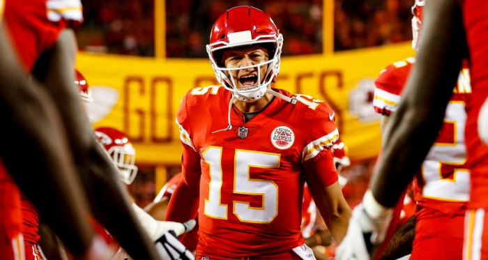 Patrick Mahomes is on the hunt for his first Super Bowl win. Photo: David Eulitt - Getty Images