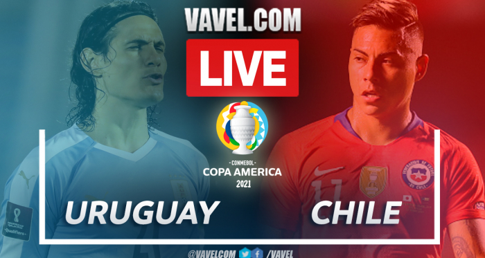 Goals and Highlights: Uruguay 1-1 Chile in Copa America 2021