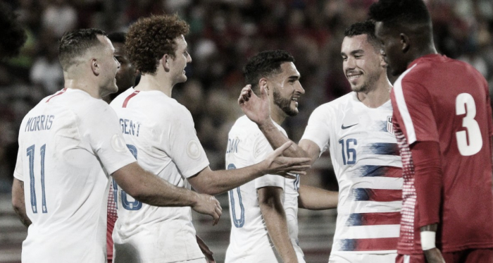 Estados Unidos ganador del grupo A | Fotografía: U.S.Soccer