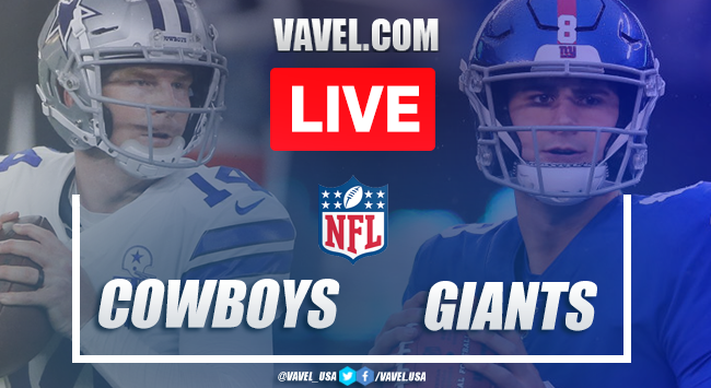 Touchdowns and Highlights: Dallas Cowboys 19-23 New York Giants in 2020 NFL Season